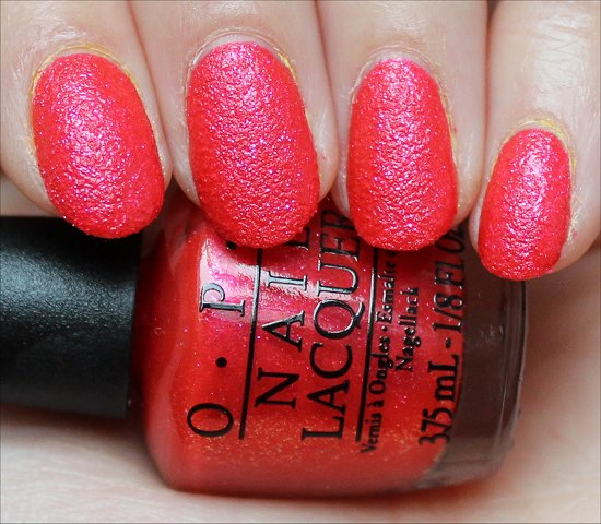 OPI I'm Brazil Nuts Over You Review & Swatch