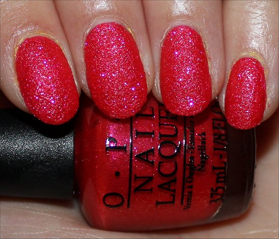 OPI I'm Brazil Nuts Over You Swatch & Photos