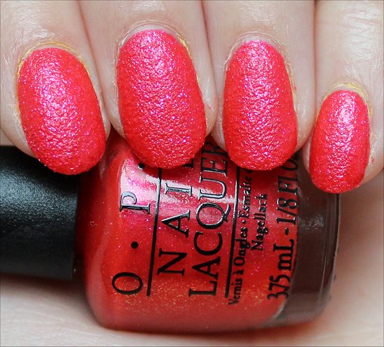 OPI I'm Brazil Nuts Over You Swatch & Review