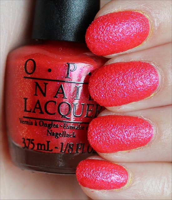 OPI I'm Brazil Nuts Over You Swatches & Review