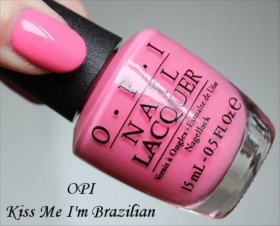 OPI Kiss Me I'm Brazilian OPI Brazil Collection