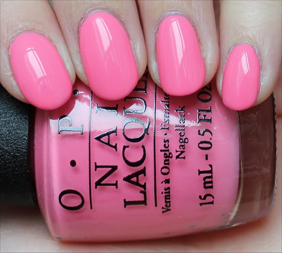 OPI Kiss Me I'm Brazilian Swatch