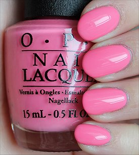 OPI Kiss Me I'm Brazilian Swatches & Review