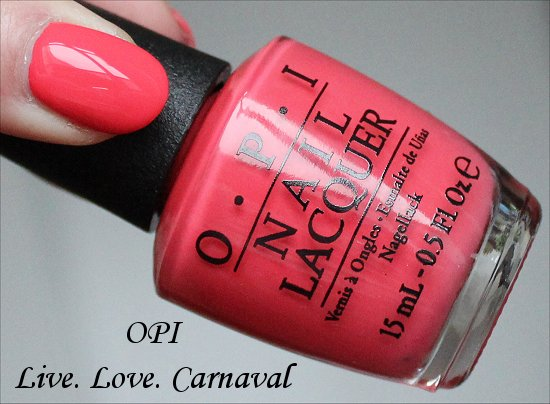 OPI Live. Love. Carnaval Brazil Collection