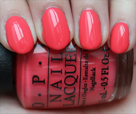 OPI Live. Love. Carnaval Swatch & Review