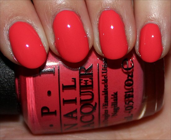 OPI Live. Love. Carnaval Swatches OPI Brazil Collection Swatches