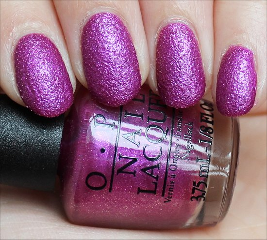 OPI Samba-dy Loves Purple Beach Sandies Brazil Collection