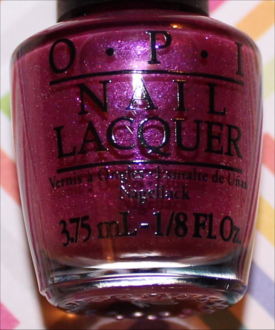 OPI Samba-dy Loves Purple OPI Beach Sandies Mini Set