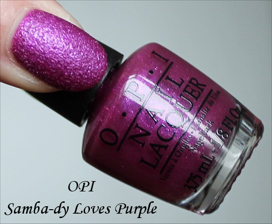 OPI Samba-dy Loves Purple OPI Brazil Collection