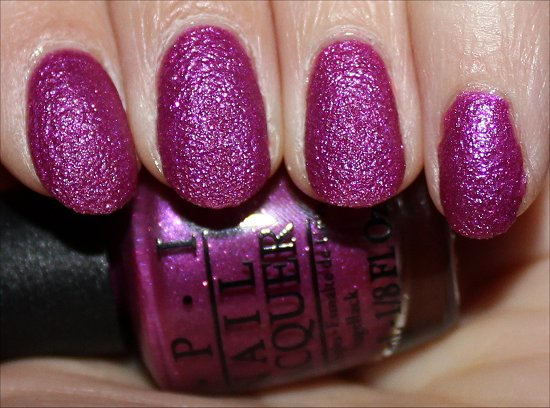 OPI Samba-dy Loves Purple Review