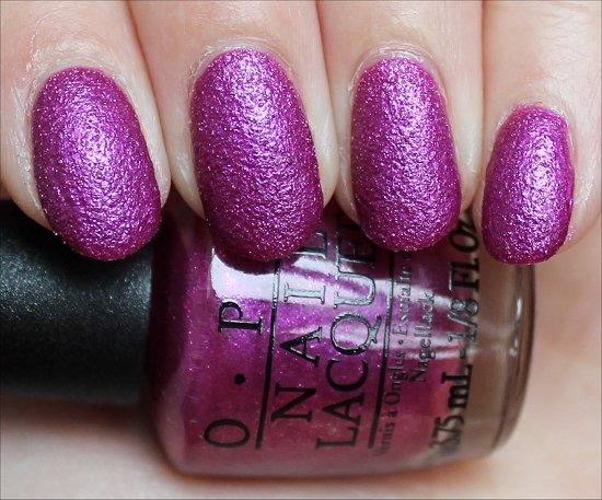 OPI Samba-dy Loves Purple Swatch