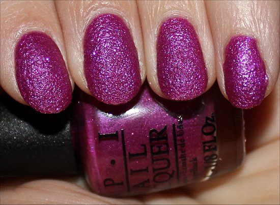 OPI Samba-dy Loves Purple Swatches, Review & Pictures