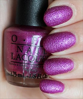 OPI Samba-dy Loves Purple Swatches & Review