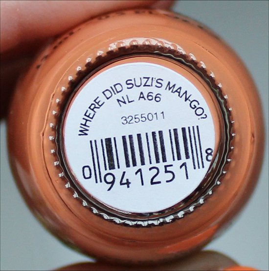 OPI Where Did Suzi's Man-Go Brazil Collection