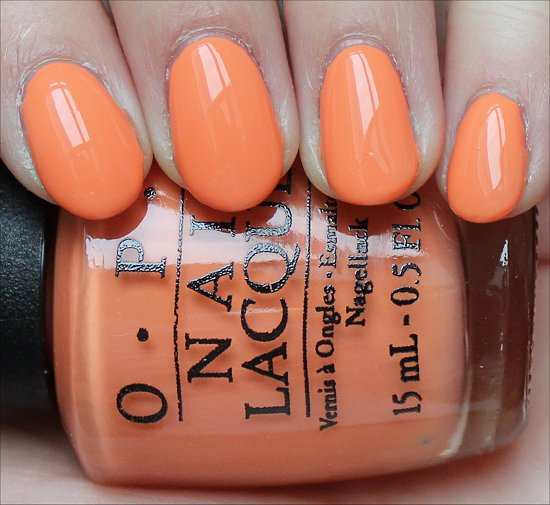 OPI Where Did Suzi's Man-Go Swatch OPI Brazil Collection Swatches