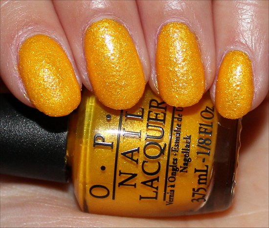 OPI You're So Flippy Floppy Swatch, Review & Photos
