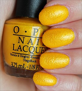 OPI You're So Flippy Floppy Swatches & Review