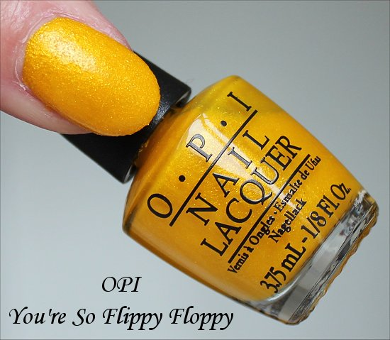 OPI You're So Flippy Floppy