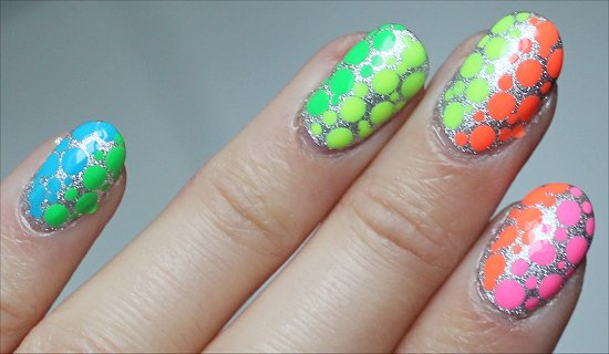 Rainbow Nailart