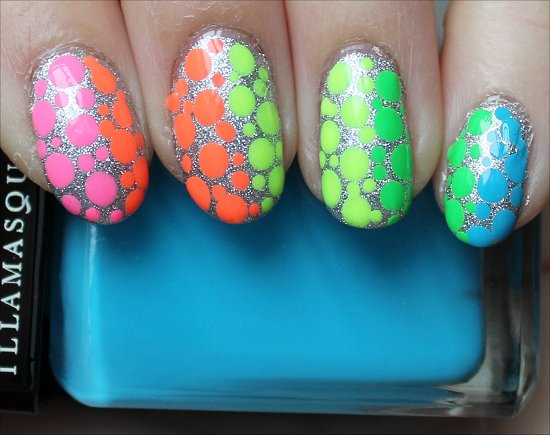 Rainbow Nails Nail Art