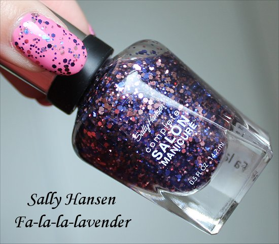 Sally Hansen Fa-la-la-lavender Wonderlust Holiday Collection