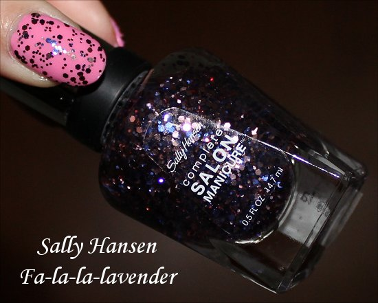 Sally Hansen Wonderlust Holiday Collection Fa-la-la-lavender
