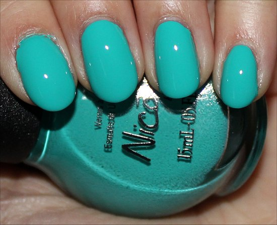 Teal Me Something New Nicole by OPI 2014 Swatches