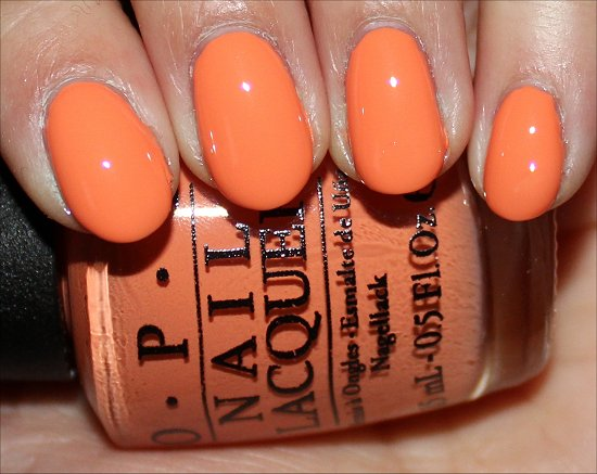 Where Did Suzi's Man-Go OPI Brazil Collection Swatch