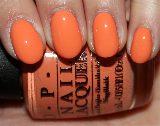Where Did Suzi's Man-Go OPI Brazil Collection Swatches