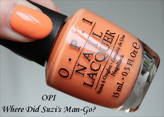 Where Did Suzi's Man-Go OPI Brazil Collection