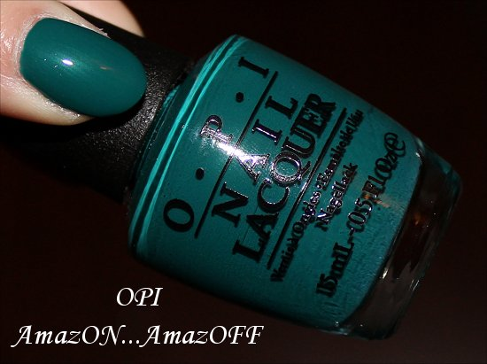 AmazON...AmazOFF OPI Swatches