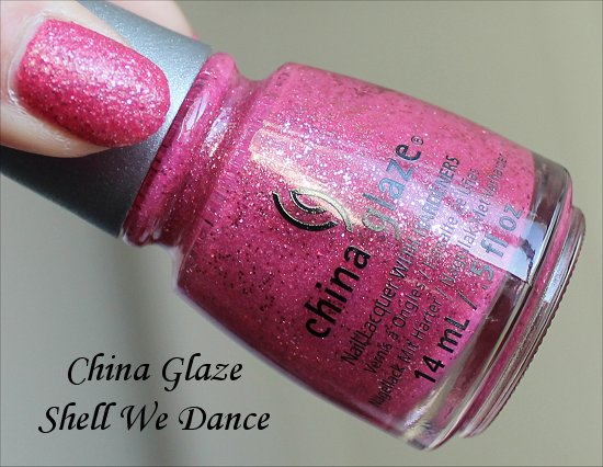 China Glaze Shell We Dance Sea Goddess Collection