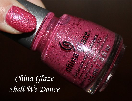 China Glaze Shell We Dance Swatch & Photos