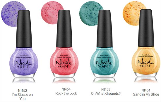 Nicole by OPI Roughles Collection