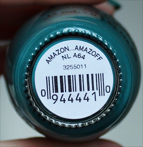 OPI AmazON AmazOFF OPI Brazil Collection