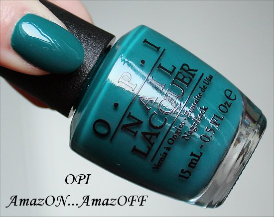 OPI AmazON AmazOFF Swatch OPI Brazil Collection Swatches
