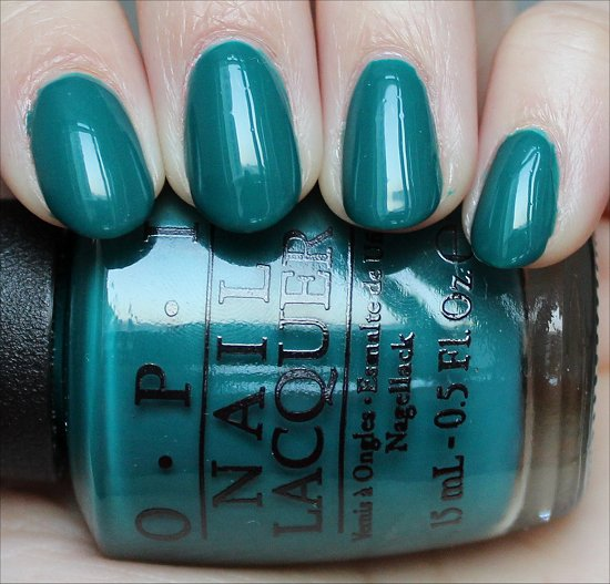 OPI AmazON...AmazOFF Swatch