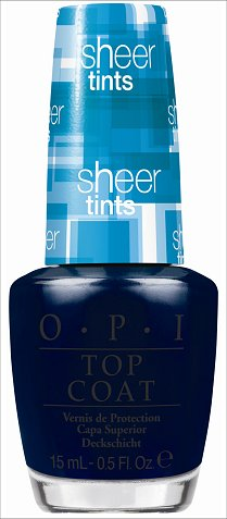 OPI I Can Teal You Like Me OPI Sheer Tints Blue