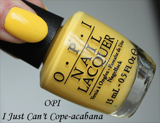 OPI I Just Can't Cope-acabana Brazil Collection