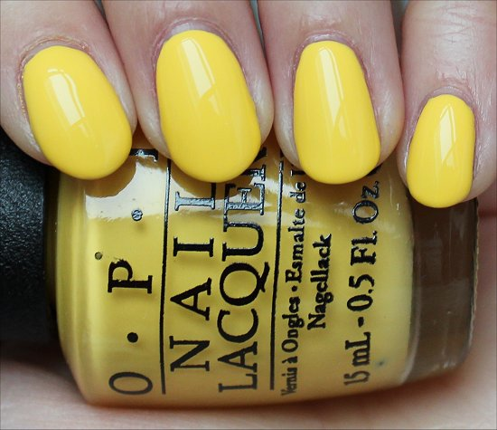 OPI I Just Can't Cope-acabana Swatch & Review