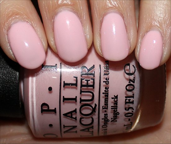 OPI I Love Applause Swatches & Photos