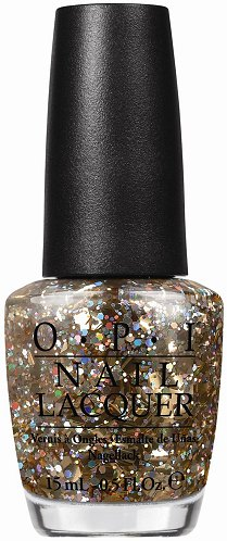 OPI I Reached My Gold! Spotlight On Glitter Collection