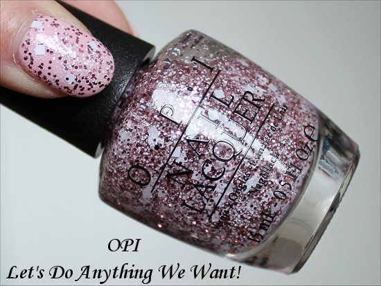 OPI Let's Do Anything We Want Muppets Most Wanted Collection