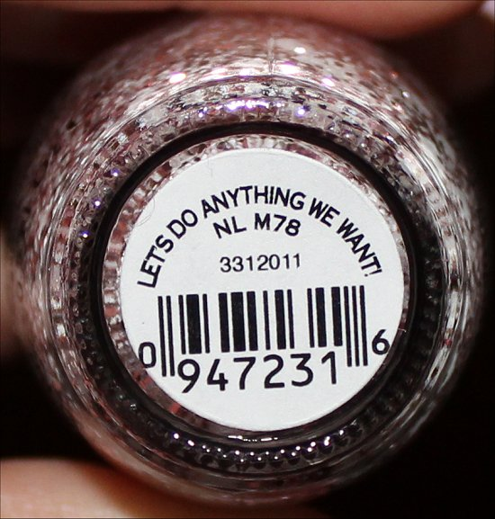 OPI Let's Do Anything We Want Muppets Wanted Collection