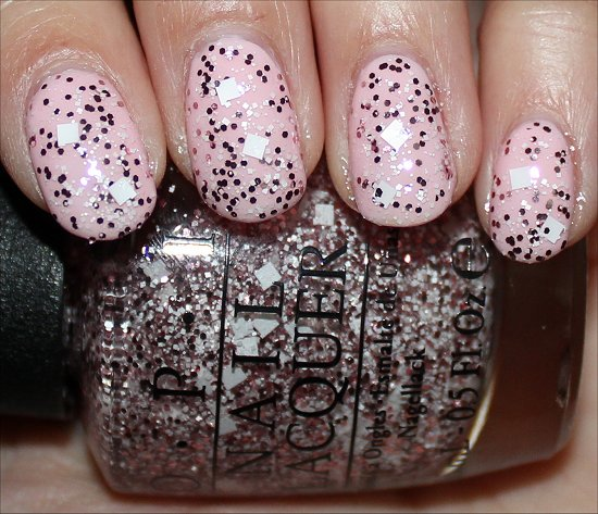 OPI Let's Do Anything We Want Swatch Muppets Most Wanted Swatches