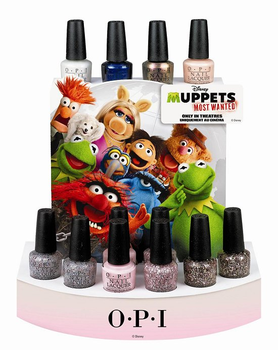 OPI Muppets Most Wanted Collection