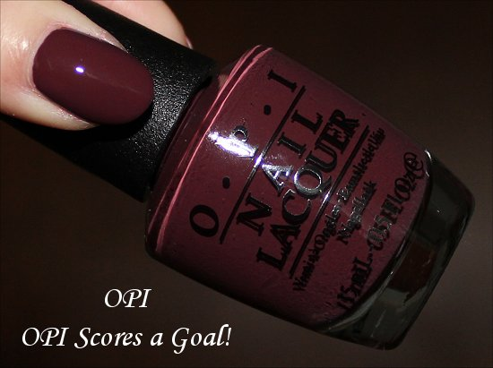 OPI Scores a Goal OPI Brazil Collection
