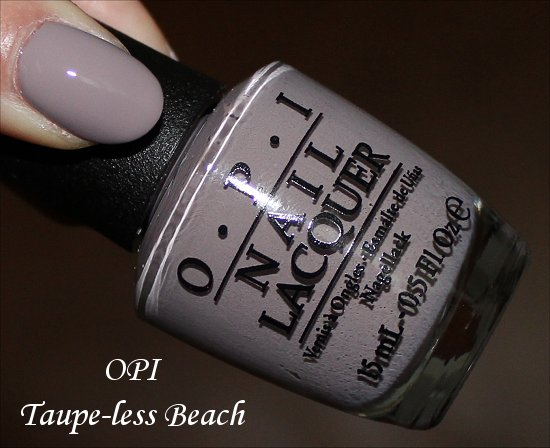OPI Taupe-less Beach Swatch & Pictures
