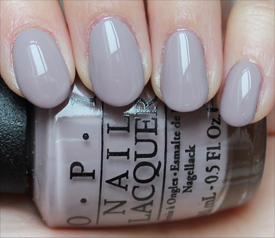 OPI Taupe-less Beach Swatch & Review