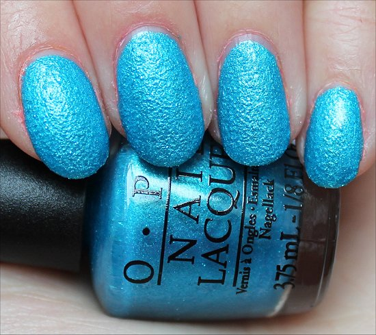 OPI What's a Little Rain Forest Swatch & Review